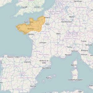 Francia Orto Zonas Normandie-Bretagne