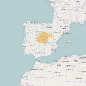 Espagne Ortho Zones Central