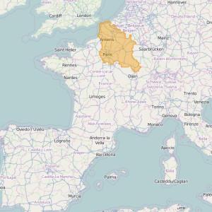 Francia Orto Zonas Paris-Nord