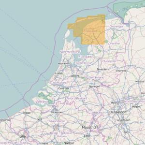 Países Bajos Topo Zonas (1:25.000) Friesland