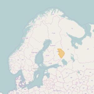 Finlandia Topo Zonas (1:50.000) North Karelia