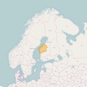 Finlandia Topo Zonas (1:20.000) South Ostrobothnia