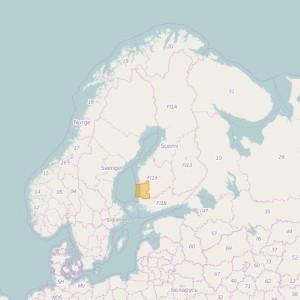 Finlandia Topo Zonas (1:20.000) Satakunta