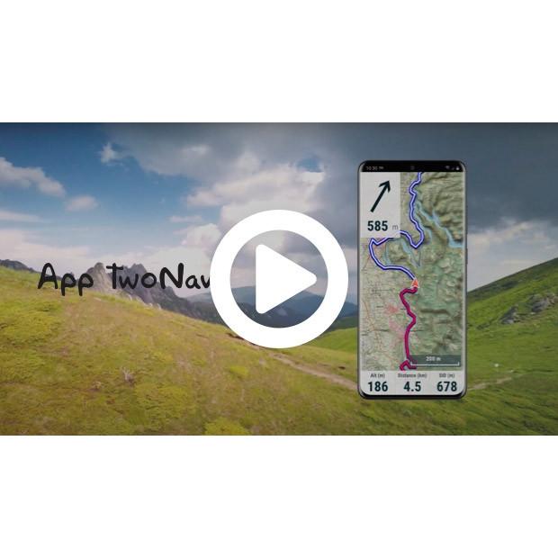 App TwoNav: Convierte tu móvil en un potente Navegador GPS