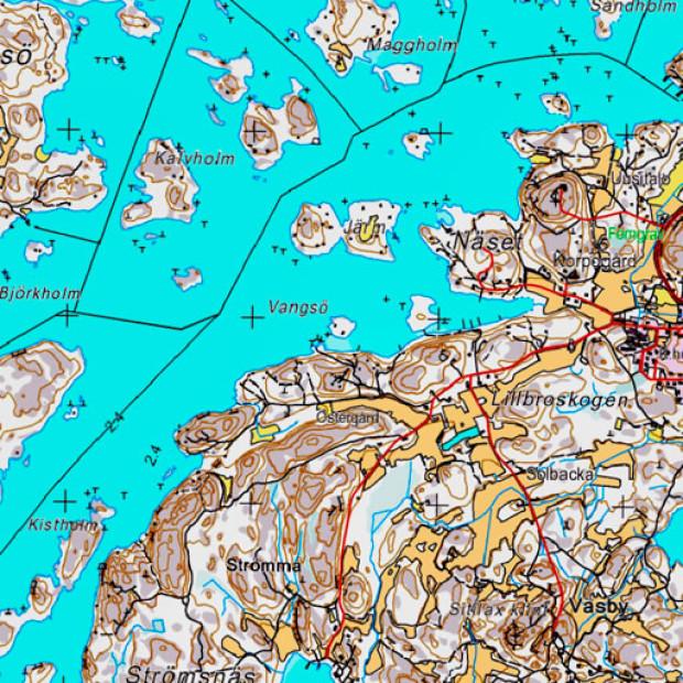 Finland Topo 50k Land 1