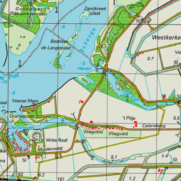 Netherland Topo 50k 1