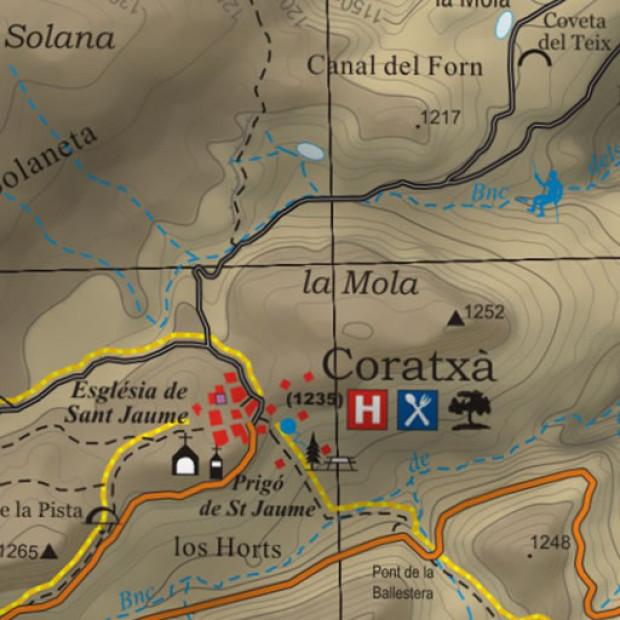 Spain Topo Tossal Coratxa 1