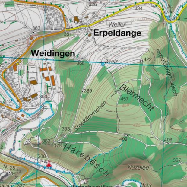 Luxemburg Topo