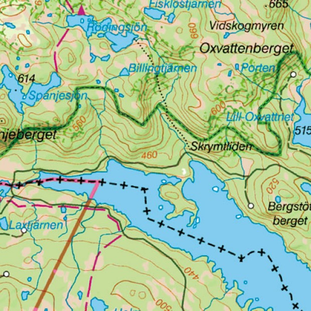 Sweden Topo 25k