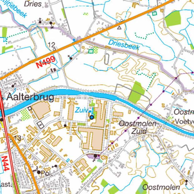 Belgium Topo Maps