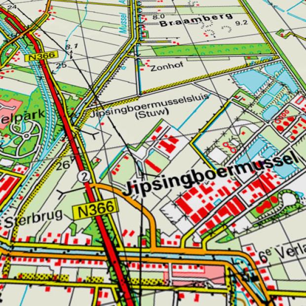 Netherland Topo 50k Land