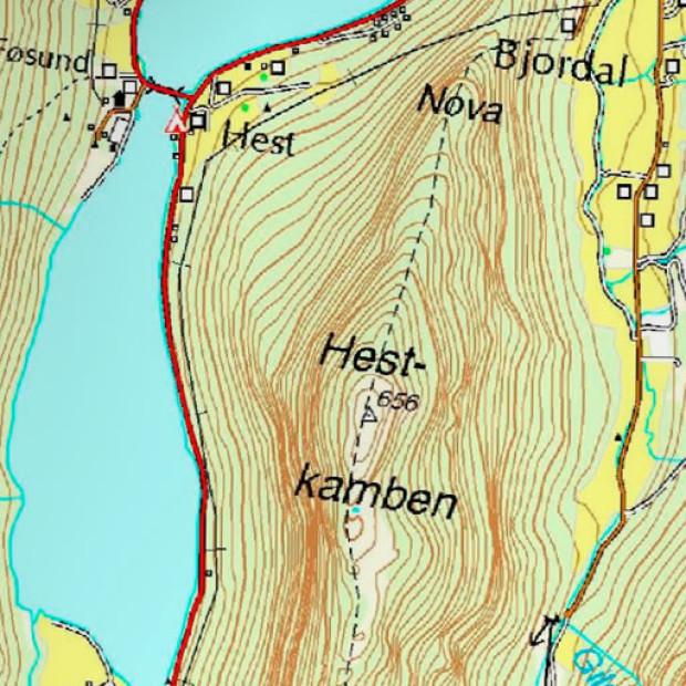 Norway 25k Topo Land 1