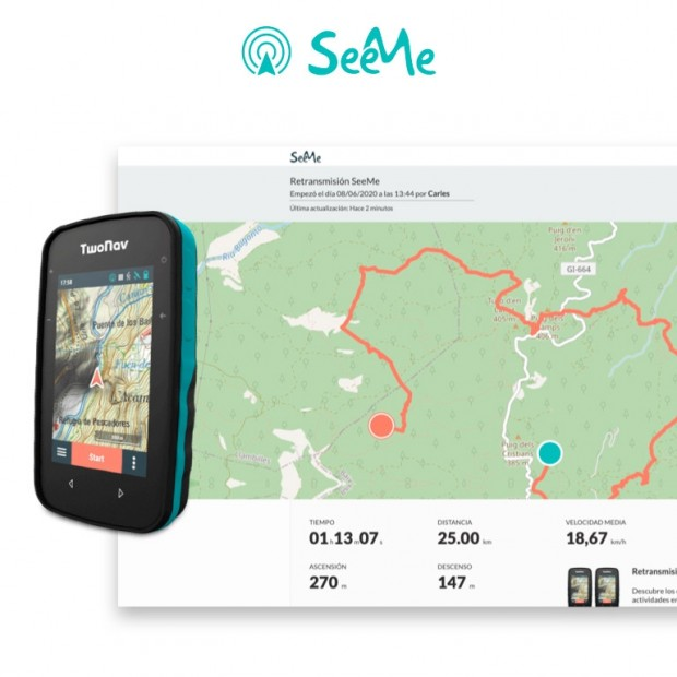 Pack GPS Cross avec SeeMe