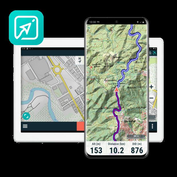 App TwoNav: transformez votre mobile en un GPS puissant