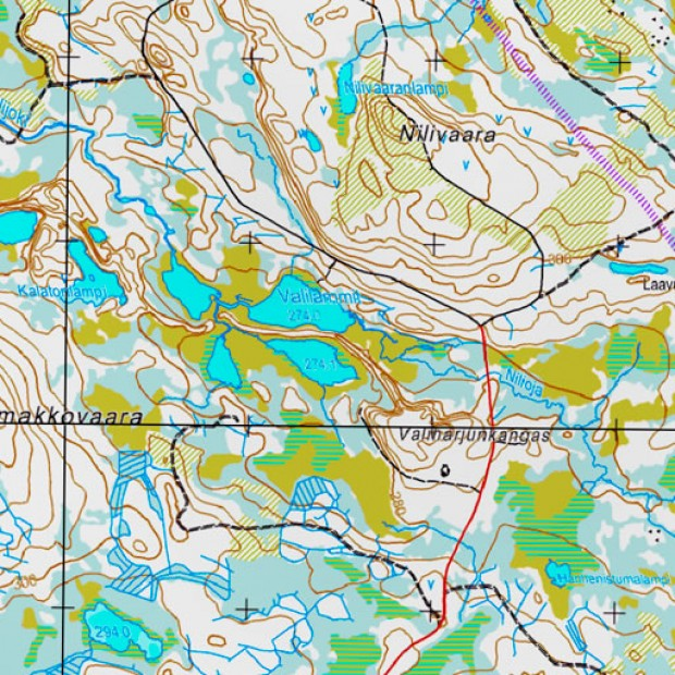 Finland Topo 50k Topo 1