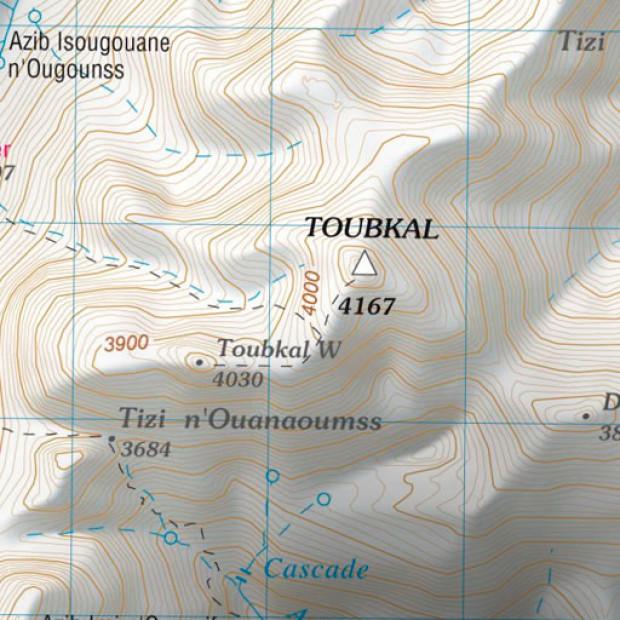 Morocco Toubkal Topo