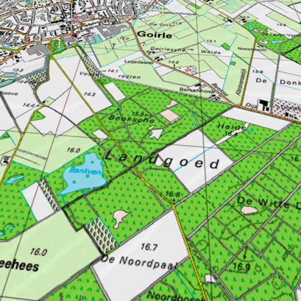Netherland Topo 25k 3d 1