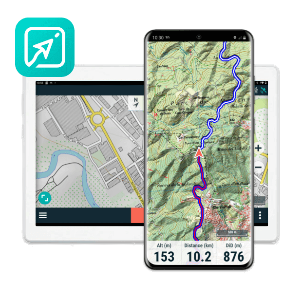 TwoNav App: Verwandeln Sie Ihr Handy in einen leistungsstarken GPS-Navigator