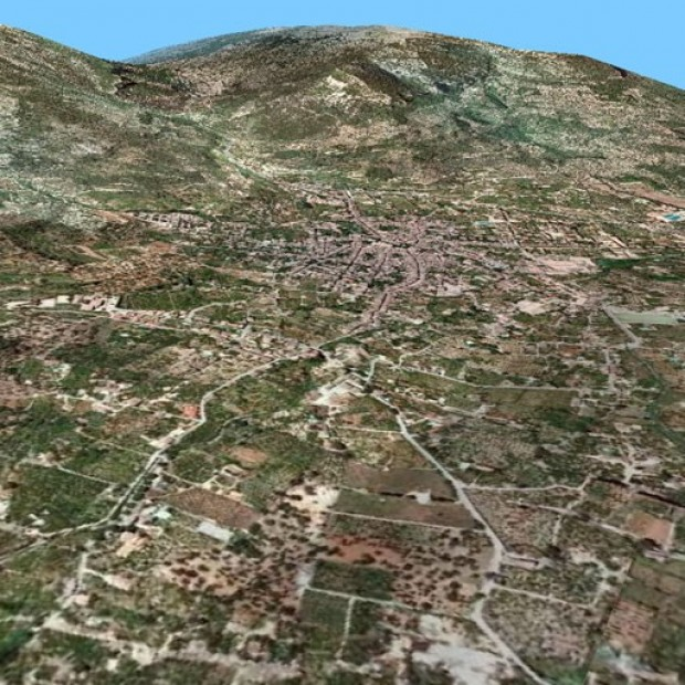 Spain Balearic Orto Menorca3d 1