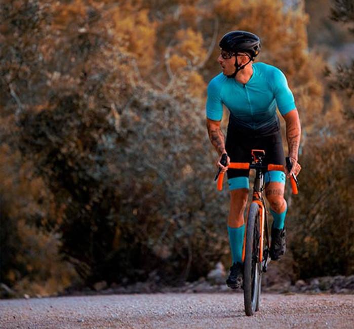 Maglia Ciclismo Uomo Maniche Corte