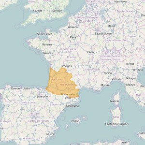 France Ortho Zones Pyrenees-South West