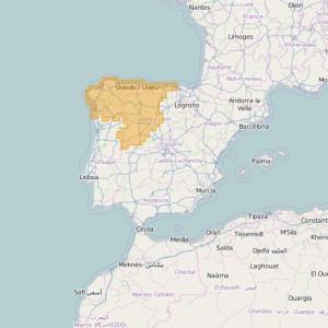 Spain Ortho Zones Nor-Oeste