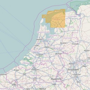 Netherlands Topo Zones (1:25.000) Friesland