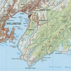 New Zealand Topo (1:250.000)