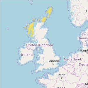 Great Britain Topo Zones (1:50.000) Scottish Islands