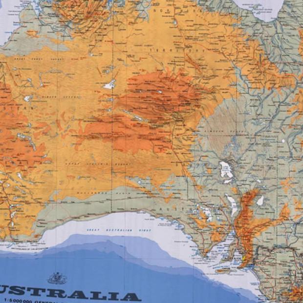 Australia Topo 5m