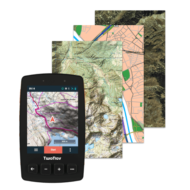 Trail 2, GPS for hiking