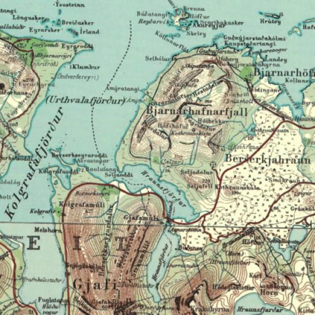 Iceland Topo 50k Twonav