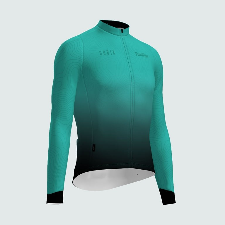 Cycling men's long shirt