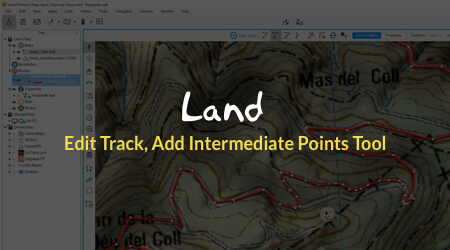 LAND Software: Prepare, transfer and analyze  Ideal for outdoors